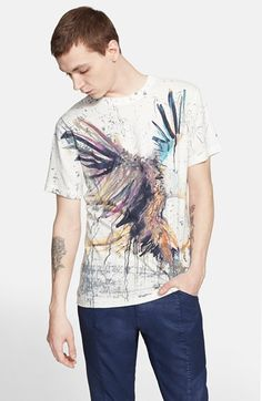 Pierre Balmain Eagle Print T-Shirt available at #Nordstrom
