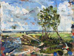 "Saatchi Online Artist Thomas Edetun; Painting, ""Summertime"" #art"