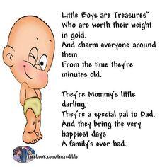 Little boys............