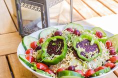 mixed salad with sprouts and beetroot