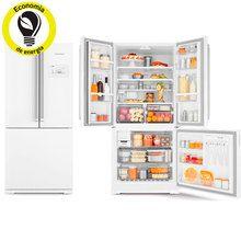 refrigerador geladeira brastemp frost free side inverse branca capacidade para 540 l