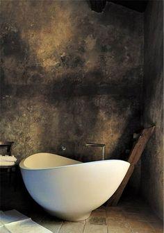 De badkamer landelijk inrichten doe je met deze voorbeelden.