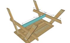 Ana White | Build a Preschool Picnic Table | Free and Easy DIY Project and Furniture Plans
