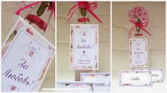 wedding invitations, place cards, bombonieres, buntings, guest books, matchmakers' and badges, money gift boxes, CD and USB cases