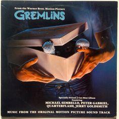 Gremlins (Music From The Original Motion Picture Sound Track) LP Vinyl Record Album, Geffen Records - GHSP 24044, 1986, Original Pressing