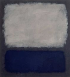 Mark Rothko. Blue and Grey , 1962