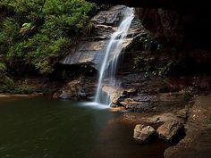 Minnehaha Falls, Blue Mountains, near Katoomba.