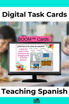 Do you teach Spanish? Are you looking for BOOM task cards to teach Spanish skills? I have a variety of BOOM™ digital task cards to teach preterite tense, SER adjectives, and more. Be sure to check out all these resources. Perfect for distance learning! #TeachingSpanish #DistanceLearning #SpanishBOOMTaskCards
