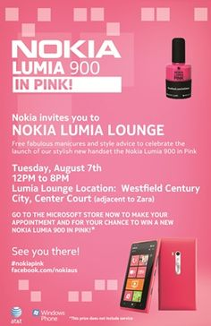 This Tuesday at LA's Westfield Century City: Free manicure by Duality Cosmetics AND win tix to see the Nicki Minaj concert on Aug 8th at the Nokia Theatre!