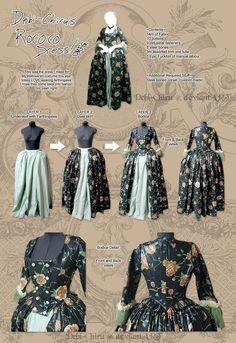 Výsledok vyhľadávania obrázkov pre dopyt rococo dress