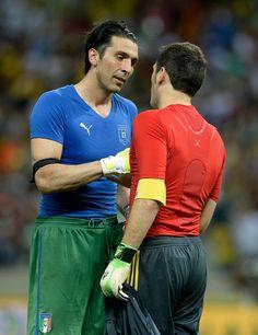 Iker Casillas - Spain v Italy