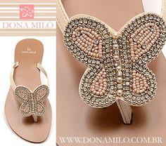 Dona Miló #Rasteirinha borboleta