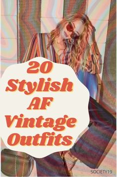 6 Ambrosial Edgy Fashion Tips Prodigious Ideas.Fashion Tips Videos 20 Stylish AF Vintage Outfits To Wear RN