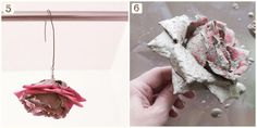 Tutorial: DIY Concrete Flowers