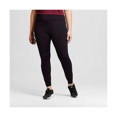 Women's Plus Size Legging Pants ($30) ❤ liked on Polyvore featuring plus size women's fashion, plus size clothing, plus size pants, plus size leggings, black, plus size, women's plus size pants, plus size trousers, womens plus size leggings and high rise leggings