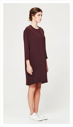 minimal tunic (luxe suiting)