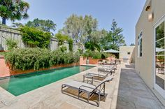 A Spanish Revival Home's Neglected Exterior Gets a Modern Makeover Photos Spanish Revival Home, Spanish Style Homes, Spanish House, Spanish Modern, Spanish Design, Spanish Colonial, Modern Pools, Hacienda Style, Mediterranean Home Decor