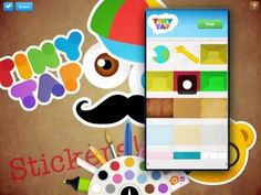 TinyTap's Creation Packs are made up of 20 themes containing backgrounds and stickers of favorite items!