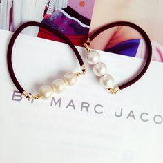 【再販16】10mm cotton pearl hair accessory