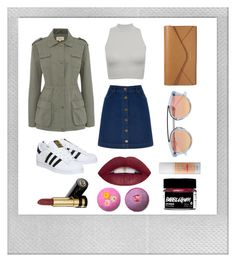 """The Birthday"" by aneeqahsulaiman on Polyvore featuring Polaroid, Oasis, adidas, Linea Weekend, Vera Bradley, Westward Leaning, Benefit and Gucci"