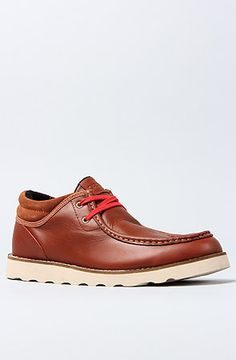 Gravis  The Mason Shoe in Rustic Brown