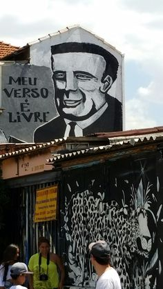 Amazing Street Art & Graffiti in Sao Paulo, Brasil. This is from the Beco do Batman section of Vila Madalena, a feast for the eyes. I was amazed.