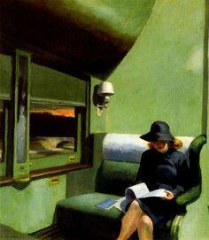 Edward Hopper, Compartment C, trem 293