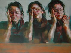 Shaun Ferguson is an UK artist who creates wonderfully atmospheric and expressive oil paintings inspired by the human form itself. Ferguson creates a strong sense of tension, mood, and energy in his pieces depicting his subjects in everyday activities.