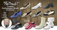 Tic-Tac-Toes Dance Shoes: Pro-Model Custom Performace Ready Footwear