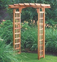 Build Your Own Arbor, DIY Arbor Projects, DIY Home, DIY Outdoor, DIY outdoor Projects, Gardening, Landscaping Ideas, DIY Landscaping Tips and Tricks, Popular Pin #gardeninglandscaping #landscapingtips