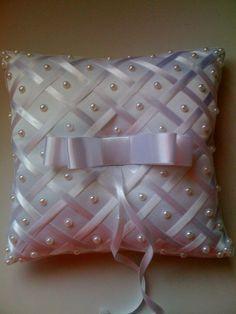 Ring Bearer Pillows, Ring Pillows, Throw Pillows, Wedding Pillows, Ring Pillow Wedding, Pillow Crafts, Smocking Patterns, Flower Girl Basket, Silk Ribbon Embroidery
