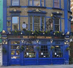 The Shipwrights Arms (pub) - London, England. Mom and I always stopped in here. Miss them both.