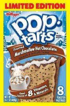 Chocolate Pop Tarts, Chocolate Pastry, Hot Chocolate, Cadbury Chocolate, Pop Tart Flavors, Oreo Flavors, Peanut Butter Pop Tarts, Junk Food Snacks, Weird Food