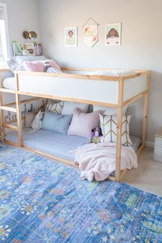 IKEA is a one-stop shopping destination for kids' bedroom ideas, from convertible beds to decor to storage. Ikea Girls Bedroom, Ikea Kids Room, Small Room Bedroom, Small Rooms, Kid Rooms, Bedroom For Kids, Kids Bedroom Ideas For Girls Toddler, Ikea Hack Bedroom, Girls Bedroom Storage