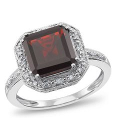 Garnet Ring at Samuels Jewelers