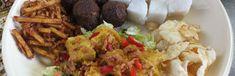 Sajoer tempeh met lontong - Kokkie Slomo - Indische recepten