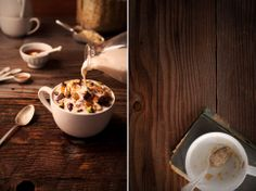 hot cereal breakfast | Leslie Grow Photography