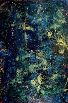 """Saatchi Art Artist Nestor Toro; Painting, """"Deep Green Forest II (Childhood memories)"""" #art"""