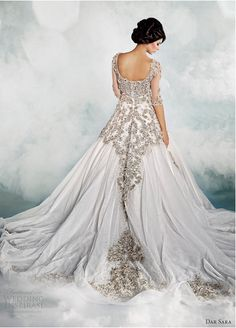 this gown speaks for itself