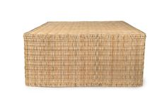 Woven Coffee Table – BURKE DECOR Laurel Canyon, Living Room Flooring, Burke Decor, Coffee Table Design, Modern Spaces, Extra Seating, Timeless Design, Wooden Frames, A Table