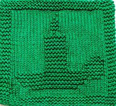 Knitting Cloth Pattern CHRISTMAS CANDLE PDF by ezcareknits, $2.85