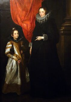 Anthony Van Dyck, Sir Anthony, Palazzo, Old Portraits, Family Portraits, Classic Paintings, Beautiful Paintings, Renaissance, Anton Van