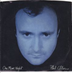"""Phil Collins / One More Night / Man With the Horn / 7"""" Vinyl 45 RPM Jukebox Record & Picture Sleeve / Pop Music"""