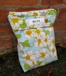 Wet bags are so versatile. Great for dirty diapers but also great for wet swim gear.