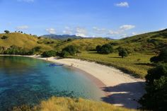 Pink Beach in East Nusa Tenggara, Indonesia. You can get here by renting a boat for a day or living on board for a few days.