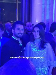 Charismatic pic of @shahidkapoor with her lovely wife!!!