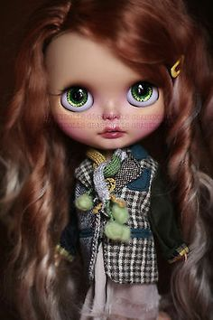 G.Baby OOAK Custom Blythe doll ~ Ashley #148