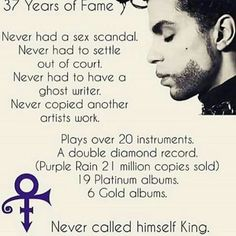 Prince Rogers Nelson was an American singer, songwriter, multi-instrumentalist, record producer and actor. Prince was renowned as an innovator and was widely known for his eclectic work, flamboyant stage presence and vocal range. Mavis Staples, Sheila E, I Love Music, Music Is Life, Soul Music, Madonna, On Air Radio, Prince Quotes, Prince Gifs
