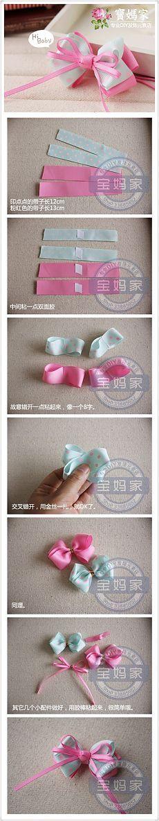 DIY 时尚 发 饰 # ...... _ 来自 风 走过 的 图片 分享 - 堆 糖