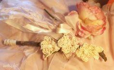 ♡ Rametto Naturale con fiori in spago